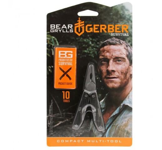 Мультитул Gerber Bear Grylls Compact Multi-tool 31-000750
