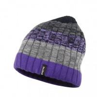 Водонепроницаемая шапка Dexshell DH332N-PP, градиент фиолетовая