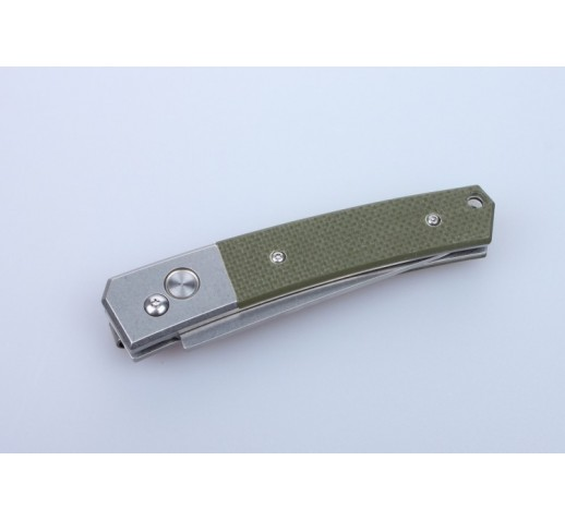 Нож Ganzo G7362 черный, зеленый, камуфляж