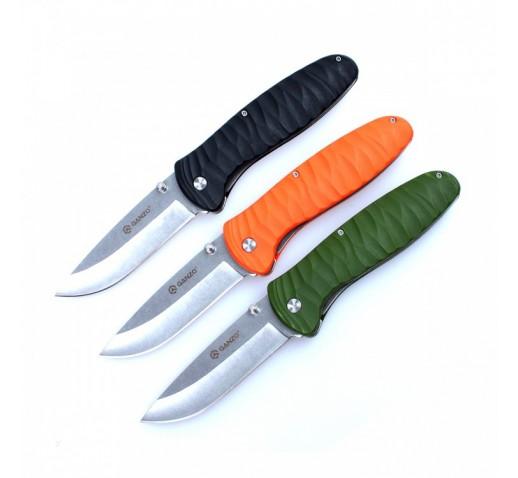 Нож Ganzo G6252 (черный, оранжевый, зеленый)