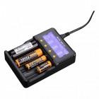 Зарядное устройство Fenix ARE-C2+ (18650, 16340, 14500, 26650, 10440, AA, AAA, C)
