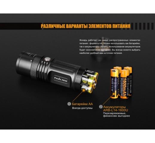 Фонарь Fenix FD45 Cree XP-L HI LED