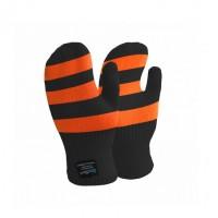Водонепроницаемые детские варежки Dexshell Children mitten, оранжевые DG536 STR L