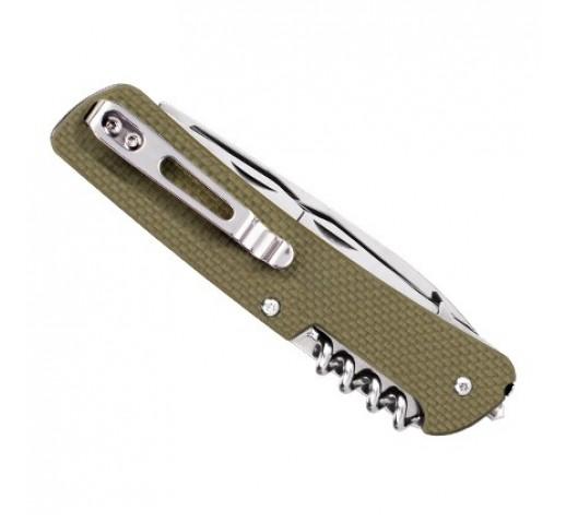 Нож Ruike Criterion Collection L31 (черный, зеленый, коричневый)