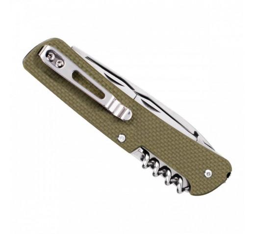Нож Ruike Criterion Collection L41 (черный, зеленый, коричневый)