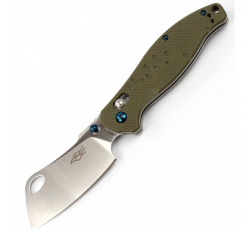 Нож Firebird F7551 (черный, оранжевый, зеленый)