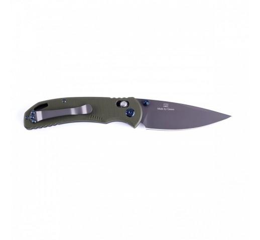 Нож Firebird F7533 (черный, зеленый, оранжевый)