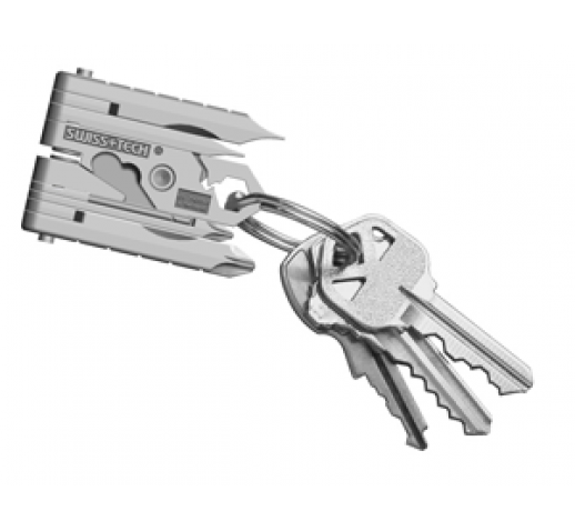 Swiss+Tech Micro-Max 19-in-1 Key Ring Multi-Function Tool