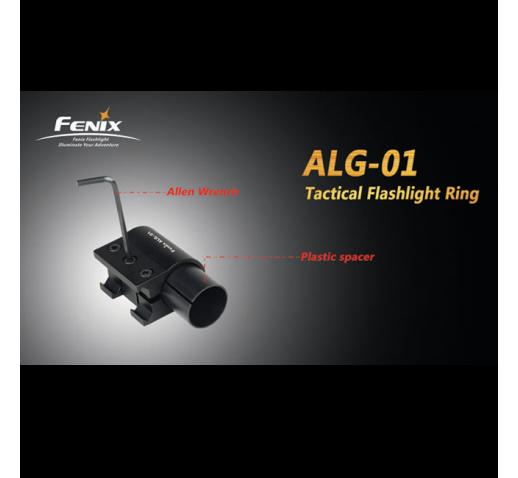 Крепление на оружие для фонарей на планку Пикатинни Fenix ALG-01