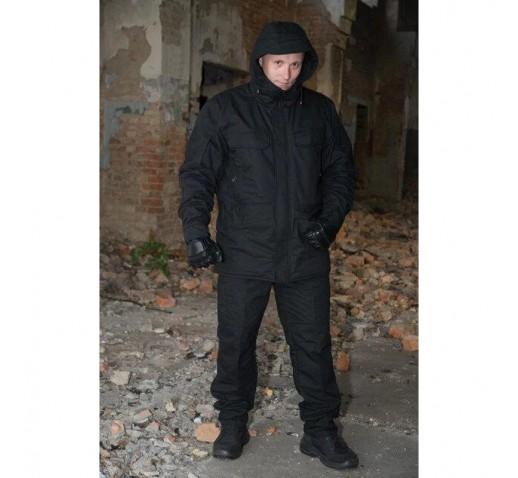 Куртка зимняя Тренд Варяг (р.46), черная
