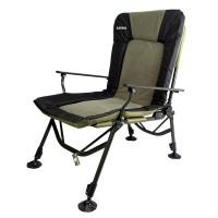 Кресло складное карповое Ranger Strong SL-107 (1040-1150x970x700мм), черно-оливковое