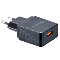 Адаптер 220V - USB с поддержкой Quick Charge 3.0 Nitecore (3A)