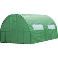 Каркасная теплица 3*4 м под пленку или полиматериал, каркасная, Greenhouse