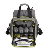Набор для пикника TE-420 Picnic, серый с черным