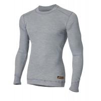 Огнестойкая кофта Aclima Work X-Safe Shirt Crew Neck GreyMelange M