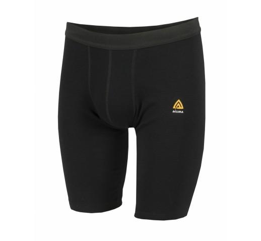 Трусы мужские Aclima WarmWool Long Shorts Man Black S